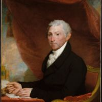 James Monroe by Gilbert Stuart