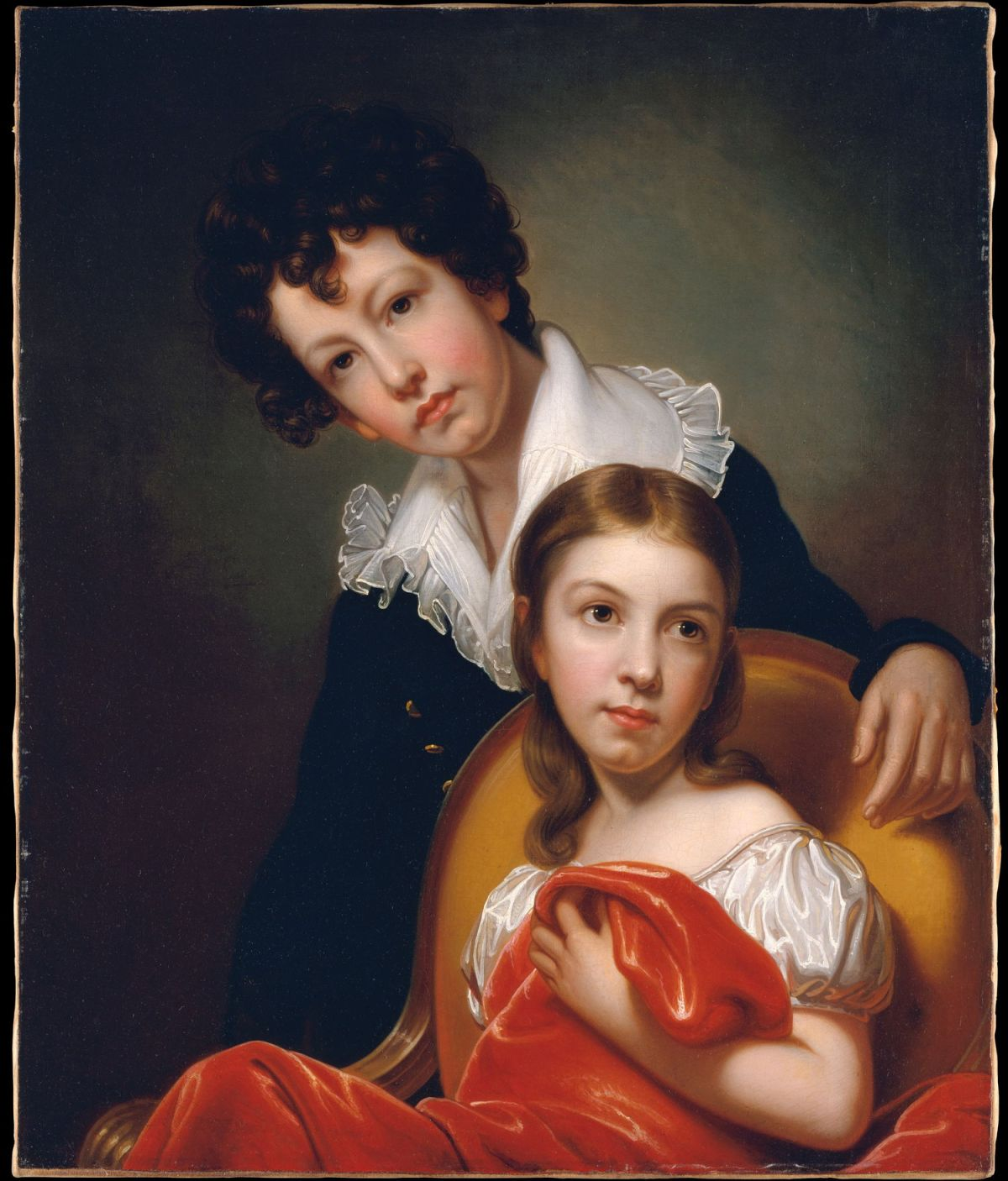 Michael Angelo and Emma Clara Peale by Rembrandt Peale
