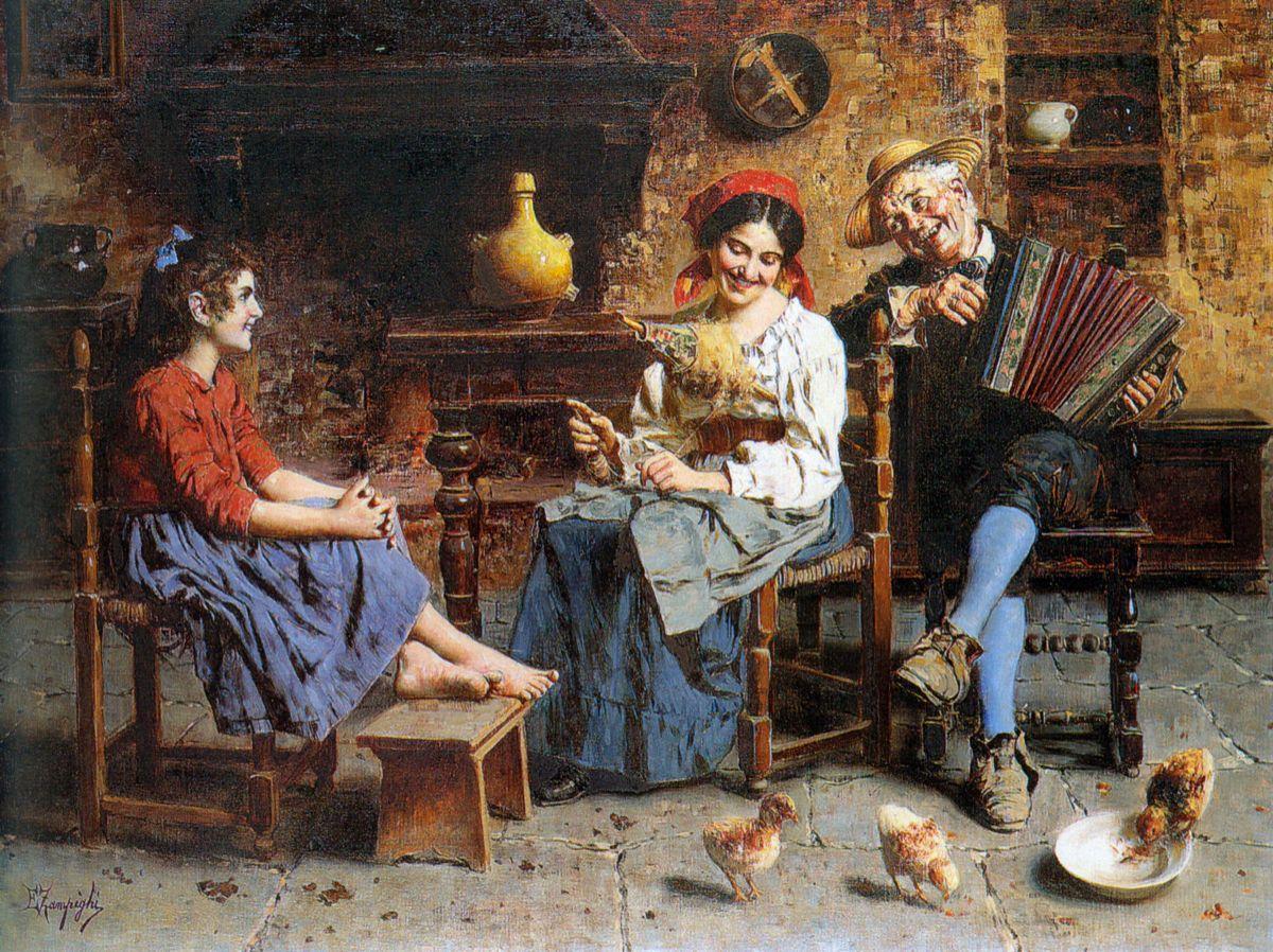 A Happy Tune by Eugenio Zampighi