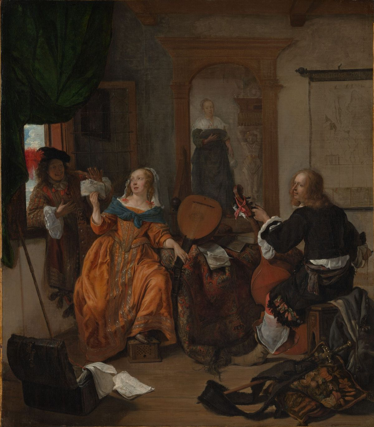 A Musical Party by Gabriel Metsu