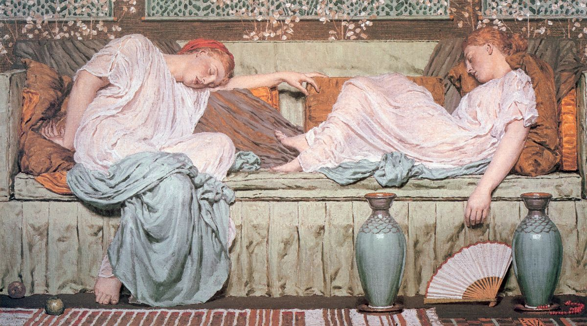Apples by Albert Joseph Moore