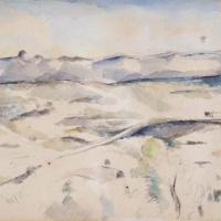 The Chaine de l'Etoile Mountains by Paul Cezanne