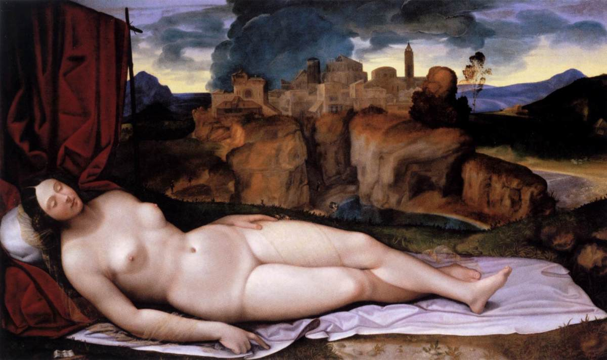 Sleeping Venus by Girolamo da Treviso the younger