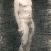 David Charcoal Figure Study by Valentina Zlatarova