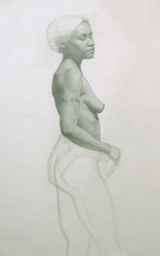 Figure Drawing by Rob Zeller