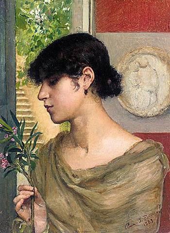 Oleander by Annie Swynnerton