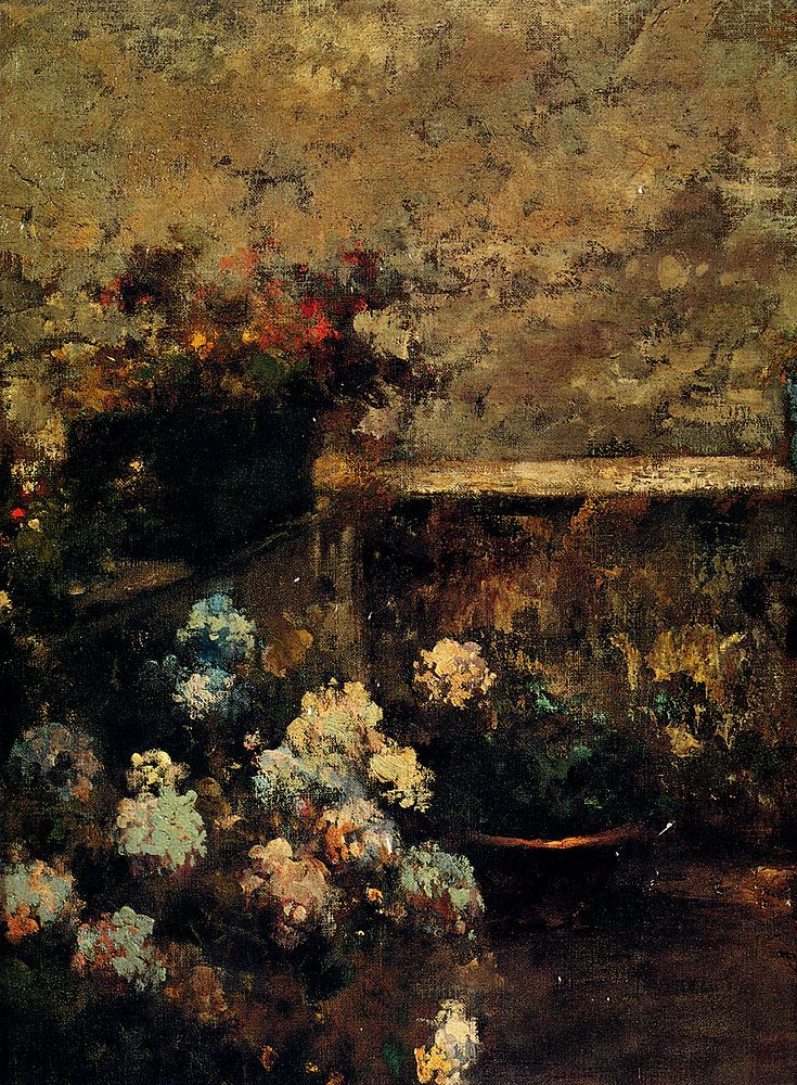 View Of A Terrace by Vincenzo Irolli