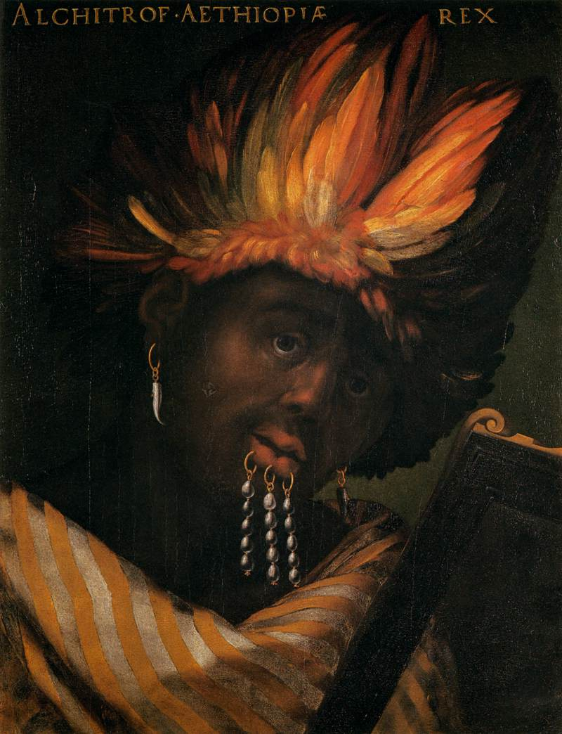 Alchitrof, Emperor of Ethiopia by Cristofano dell Altissimo
