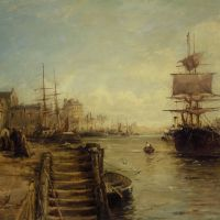 A Bit of Poole Harbour by William Edward Webb