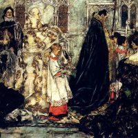 A Medieval ChristmasThe Procession by Albert B. Wenzell