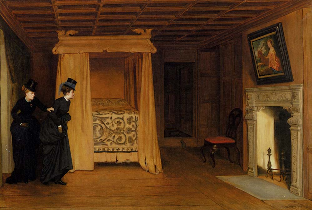 A Visit To The Haunted Chamber by William Frederick Yeames