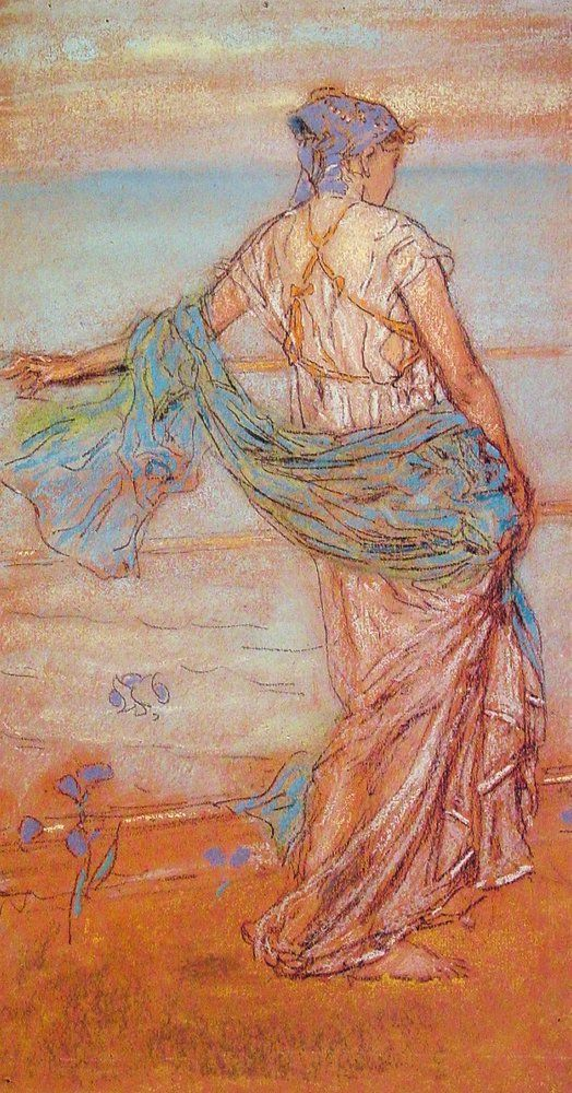 Annabel Lee by James Abbott McNeill Whistler