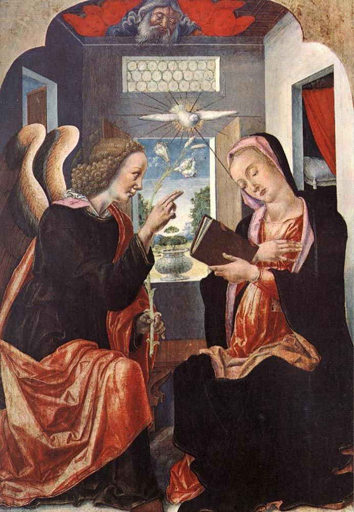 Annunciation by Bartolomeo Vivarini