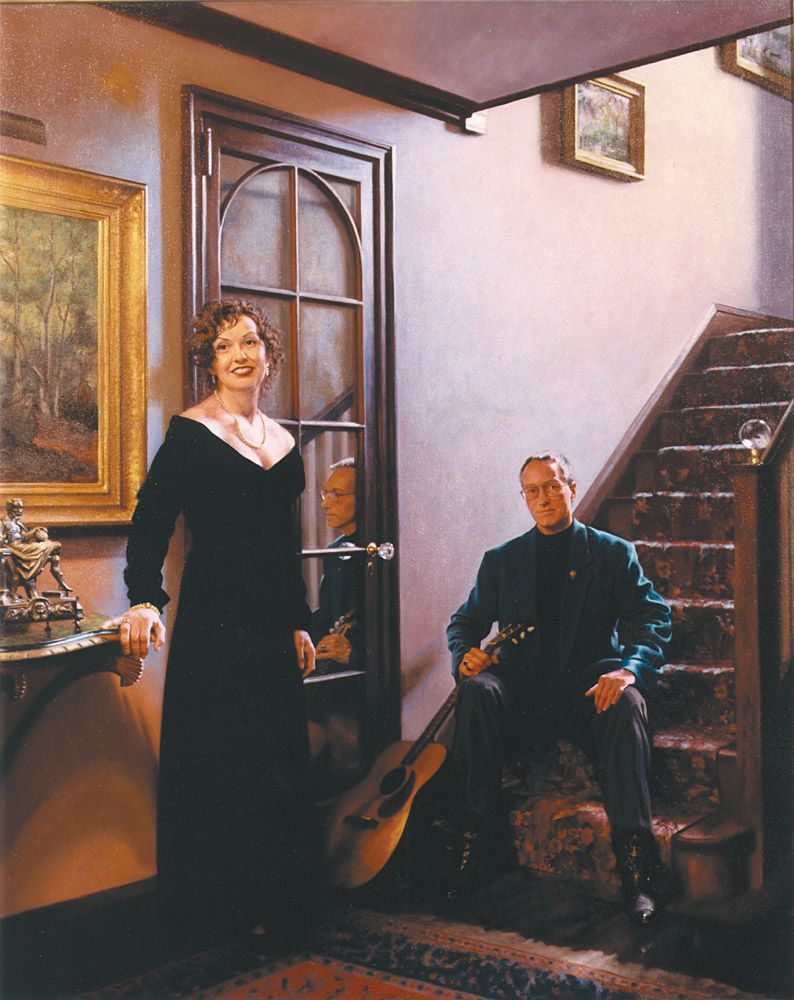 Bill and Marie Stinson by Richard Wheeler Whitney