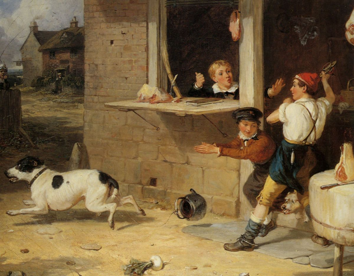 Boys Will Be Boys by Thomas Webster
