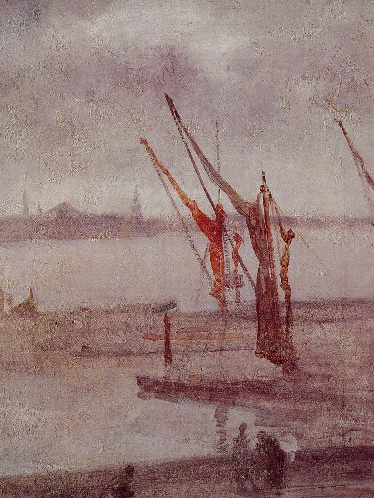 Chelsea Wharf Grey and Silver by James Abbott McNeill Whistler