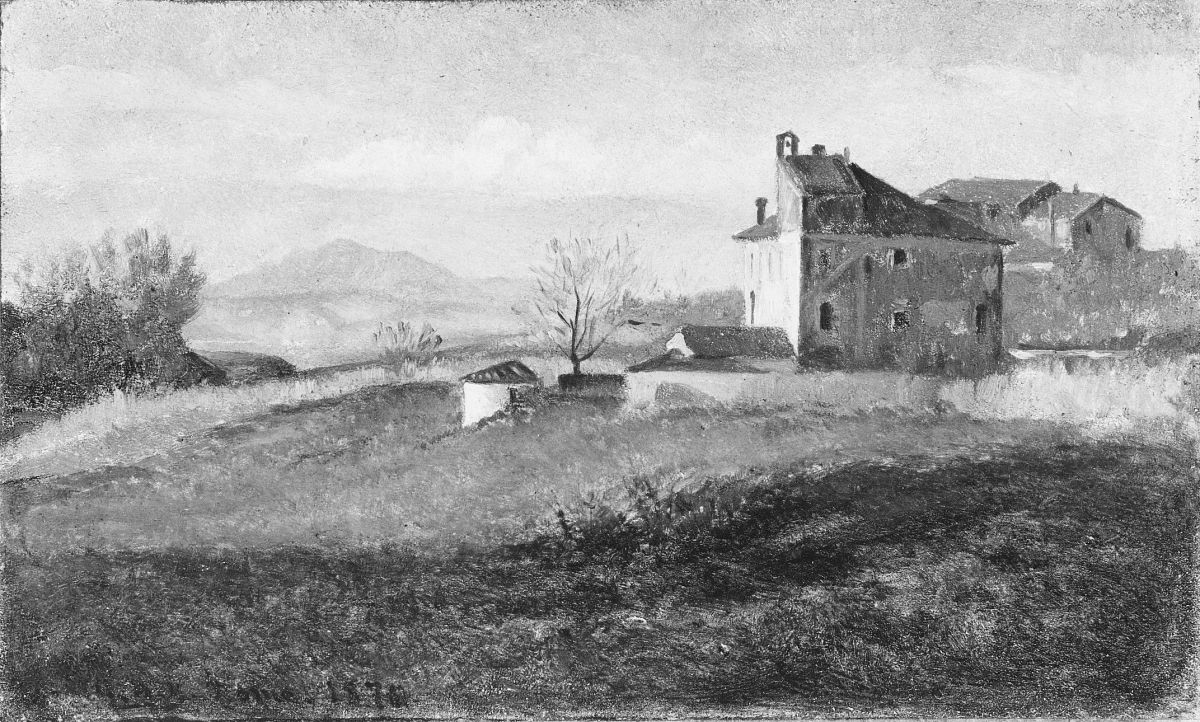 Convent near Rome by George Henry Yewell