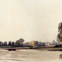 Cookham On The Thames by Peter de Wint