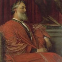 Frederic Lord Leighton, PRA by George Frederick Watts