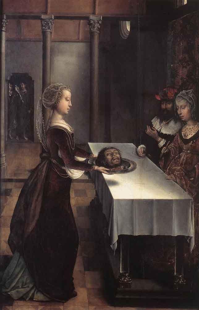 Herodias' Revenge by Juan De Flandes