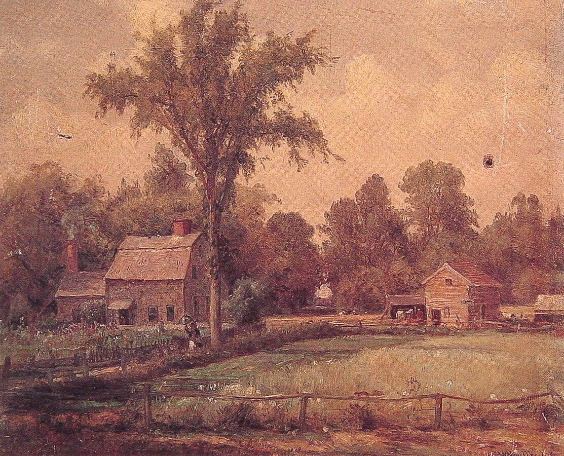 June Paradise Valley by Thomas Worthington Whittredge