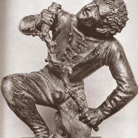 Kneeling Man by Peter Vischer the Elder