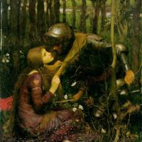 La belle dam sans mercie by John William Waterhouse