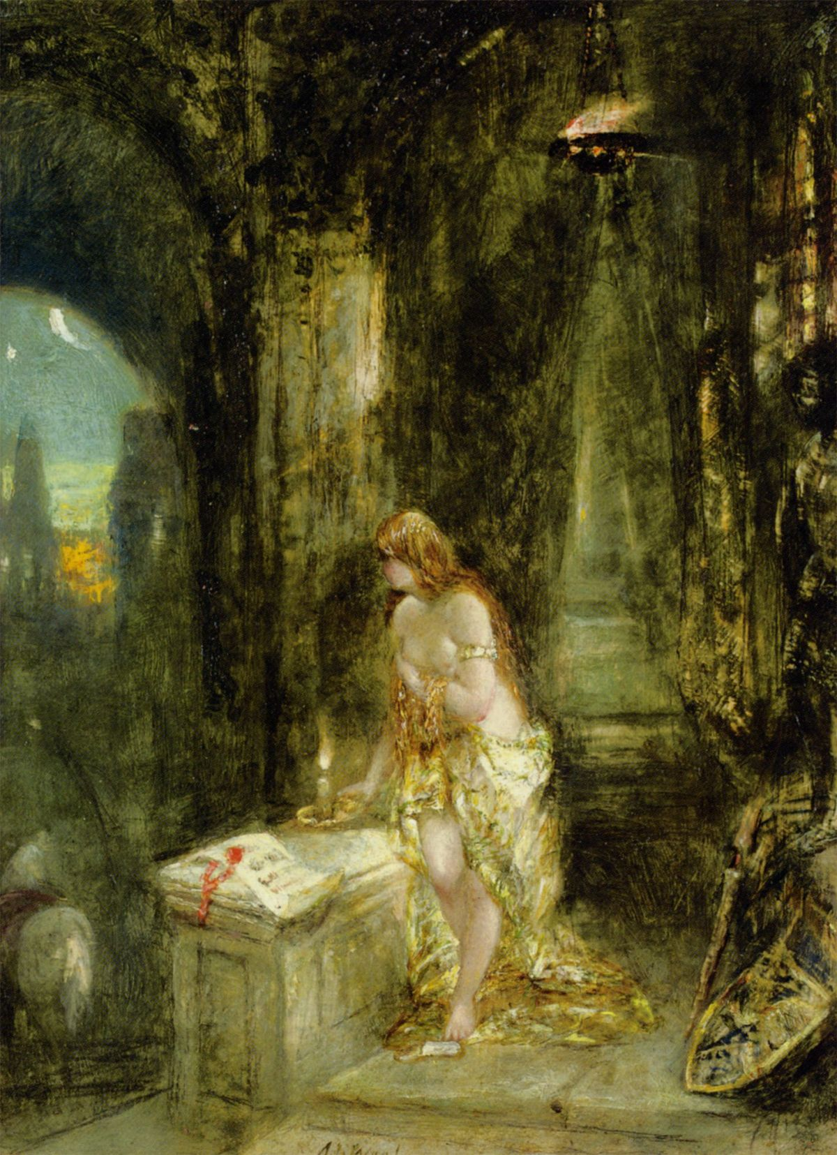Lady Godiva by Alfred Joseph Woolmer