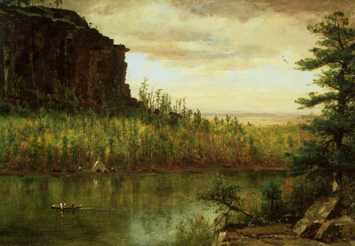 Landscape near Fort Collins by Thomas Worthington Whittredge