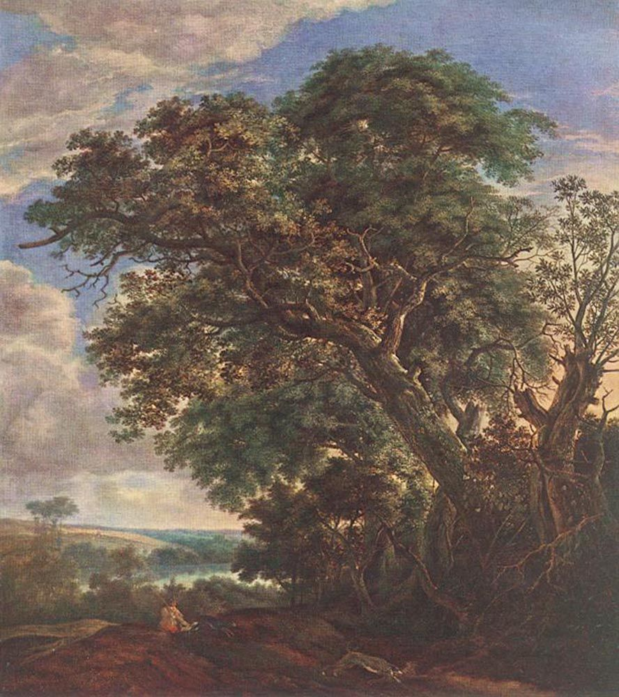 Landscape with River and Trees by Simon de Vlieger