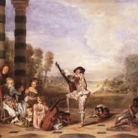 Les Charmes de la Vie by Jean Antoine Watteau