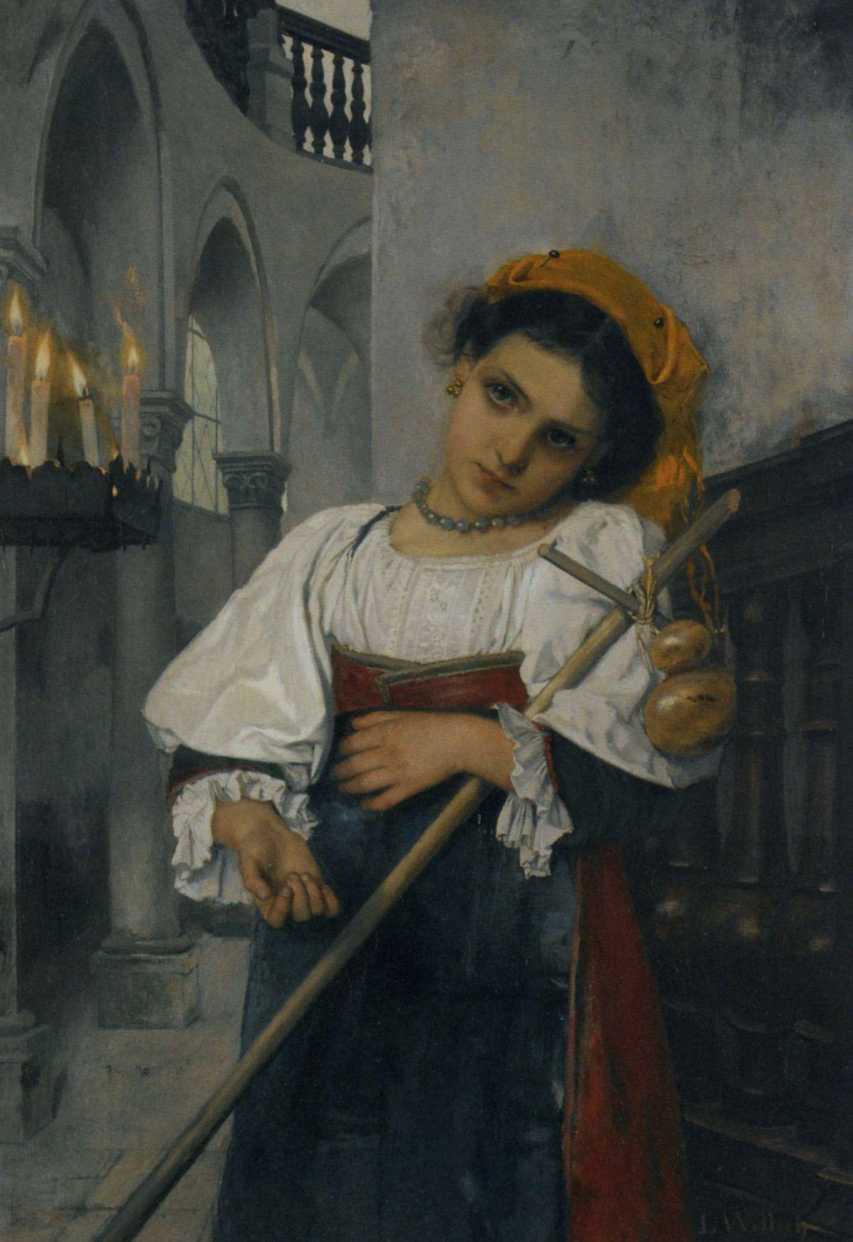 Lost in Daydreams by Heinrich Ludwig Wittich