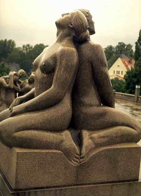 Man and Woman by Gustav Vigeland