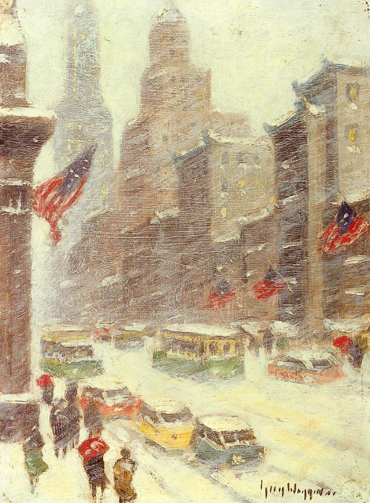 Mid Town Storm by Guy Carleton Wiggins