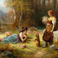Obedience by Hans Zatzka