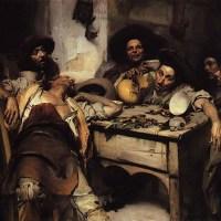 Os Bêbados ou Festejando by Jose Malhoa