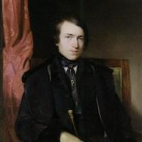 Pettenkofens freund und Mitschuler, der Maler Leopold Brunner by August Xaver Carl Von Pettenkofen