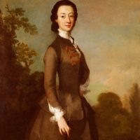 Portrait Of A Lady, Possibly A Member Of The Foley Family by Richard Wilson