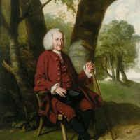 Portrait of Dr. Thomas Hanson of Canterbury by Johann Zoffany