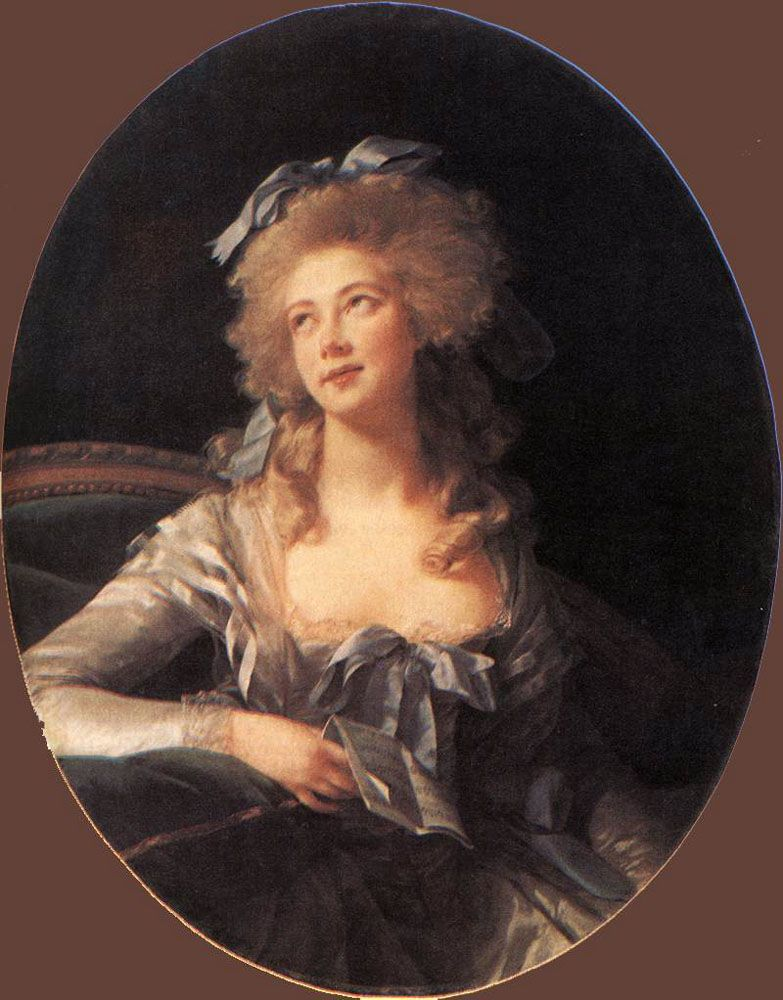 Portrait of Madame Grand by Elisabeth Louise Vigee-Le Brun