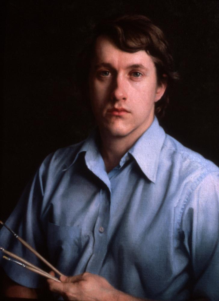 Self portrait by Richard Wheeler Whitney