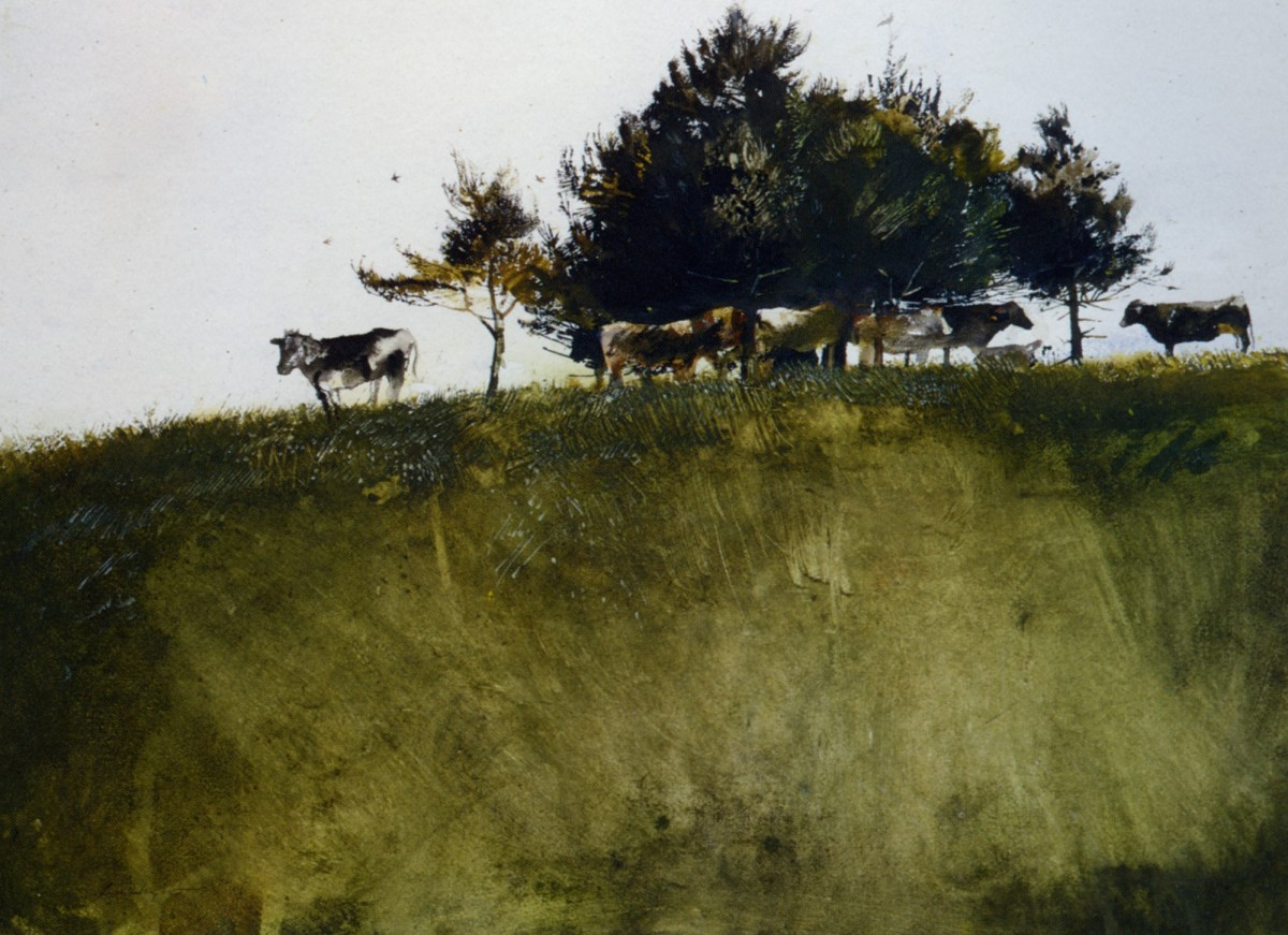 Shadey Trees by Andrew Wyeth