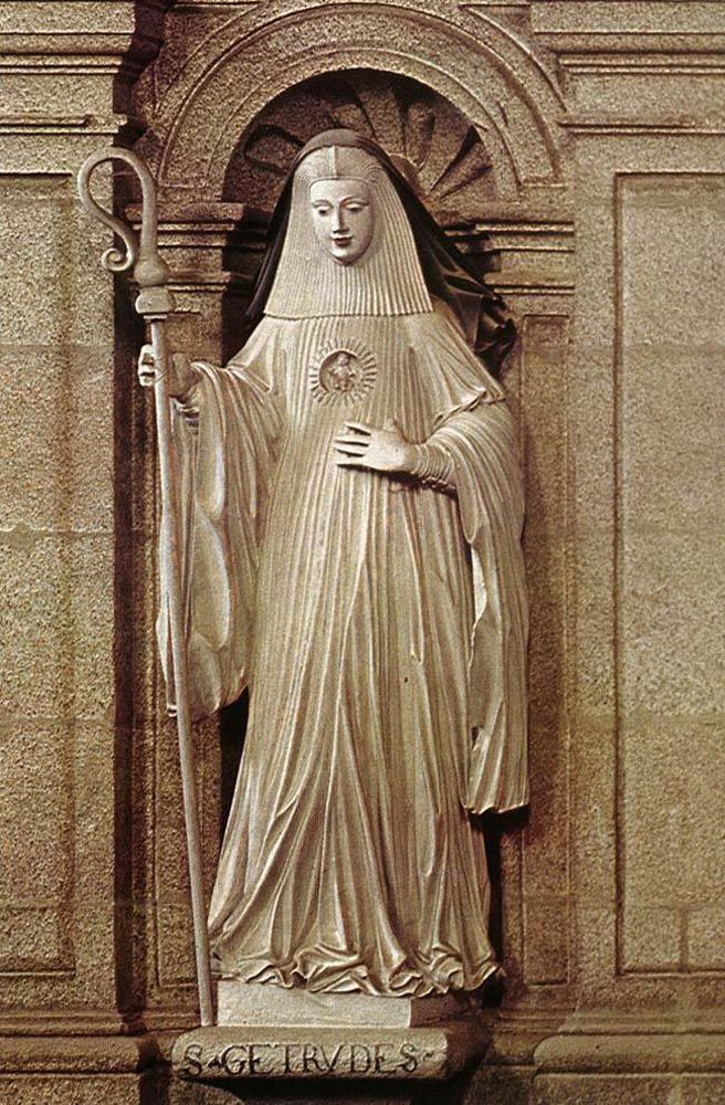 St Gertrude by Jacinto Vieira