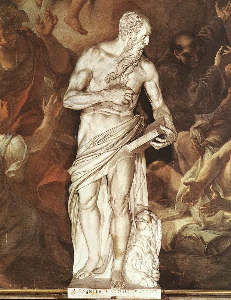 St Jerome by Alessandro Vittoria