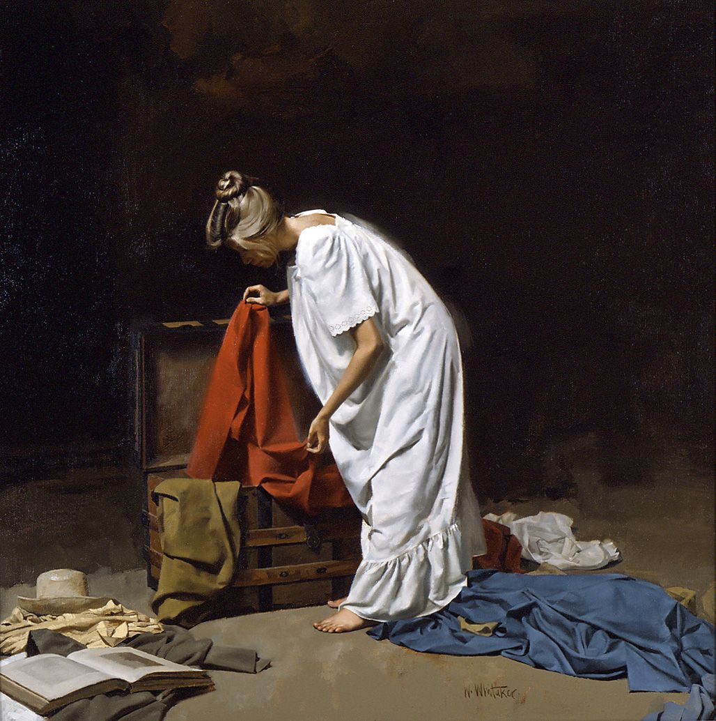 Steamer Trunk by William Whitaker