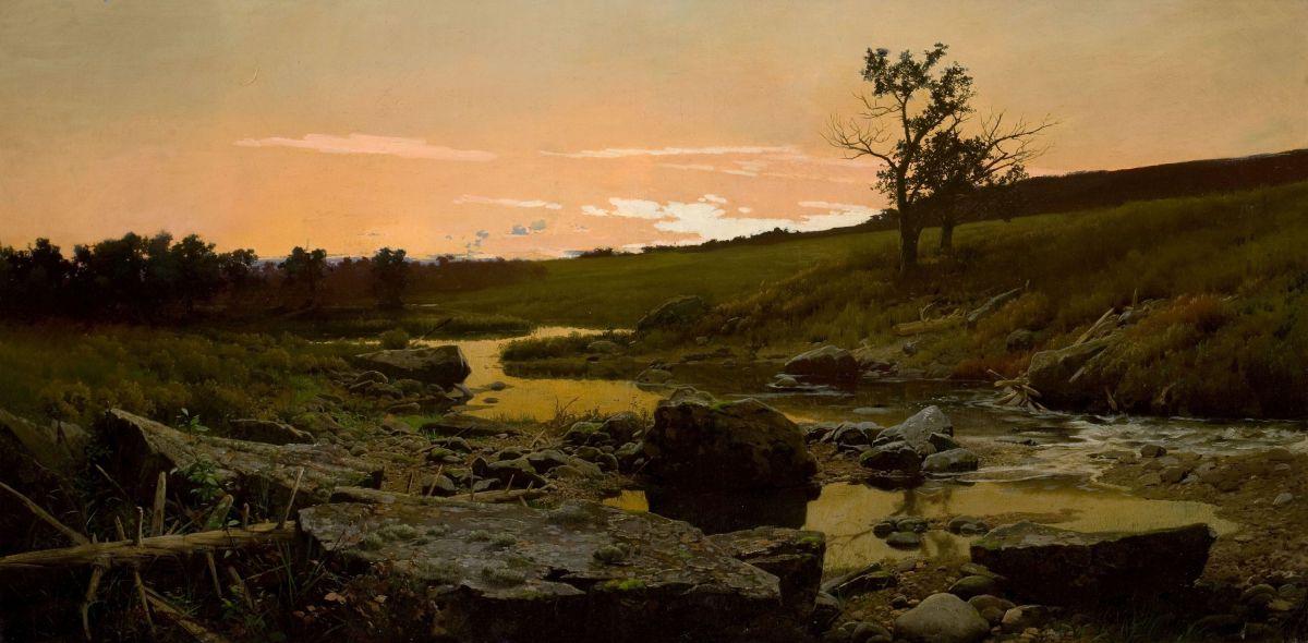 Sunset by Frederick Judd Waugh