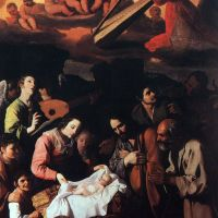 The Adoration of the Shepherds by Francisco de Zurbaran