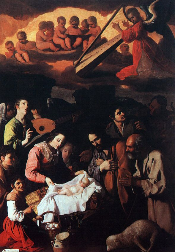 The Adoration of the Shepherds by Francisco de Zurbaran