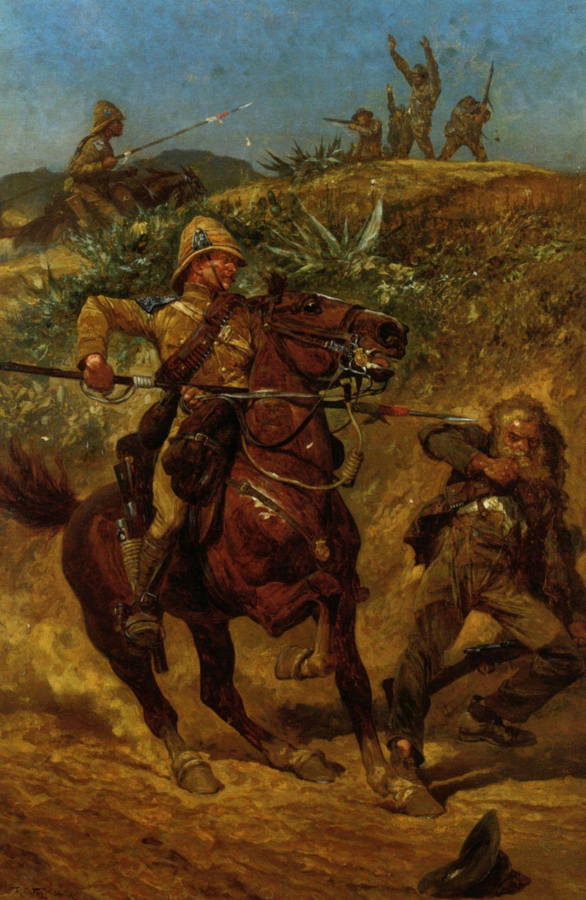 The Boer War by Richard Caton Woodville
