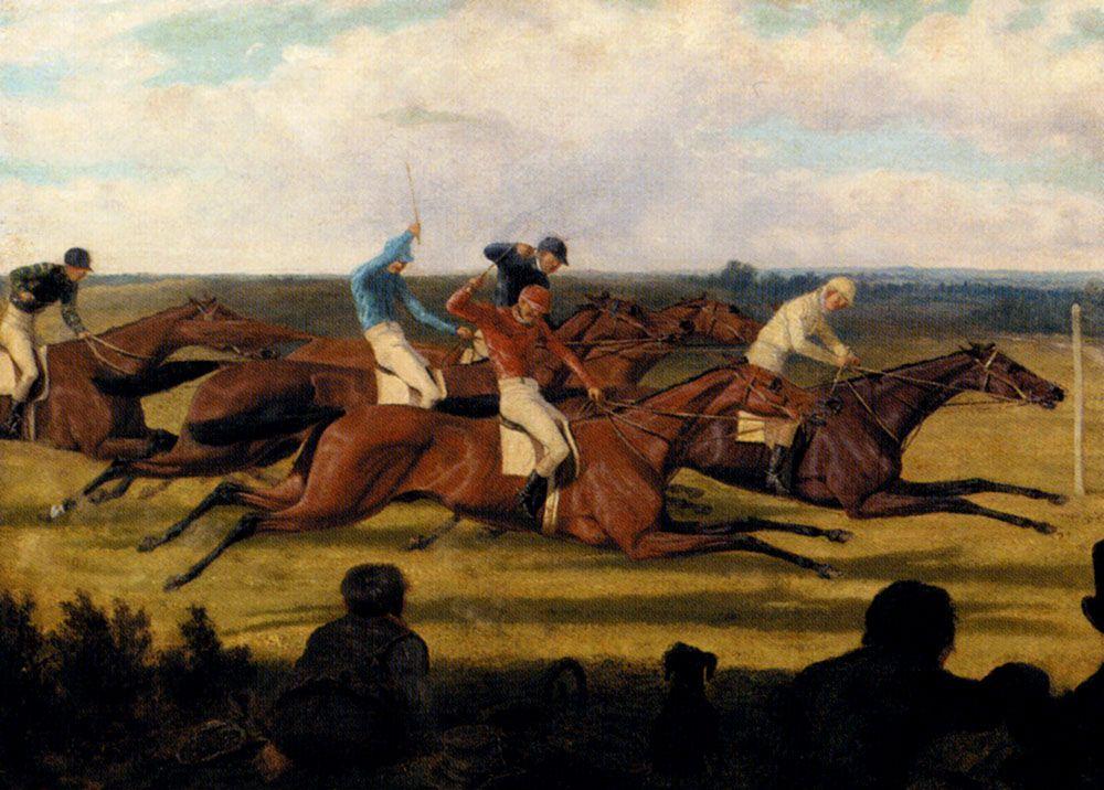 The Close Finish by Richard Dodd Widdas